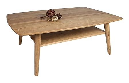 HL Design 01-03-134.1 Ronda Table basse en bois Chêne Sauvage 120,0 x 80,0 x 42,0 cm