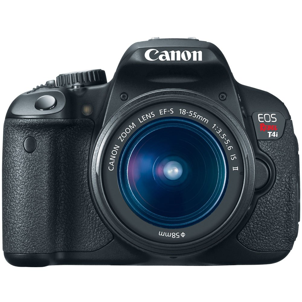 Canon EOS Rebel T4i 18.0 MP CMOS Digital SLR with 18-55mm EF-S IS II Lens