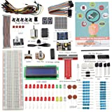 Raspberry Pi 3 Zero Starter Kit - SunFounder Project Super Kit for Raspberry Pi 3 2 Zero Model B+ A+ Including GPIO Breakout Board Breadboard LCD DC Motor LED RGB Dot Matrix 73 Page Manual User Guide