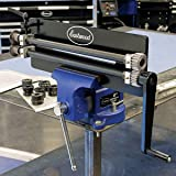 Eastwood Metal Bead Roller Create Channels Flanges Profiles Durable Steel Construction (Color: Black)