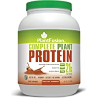 PlantFusion Complete Plant Based Chocolate Raspberry 21g 30 Servings Protein Powder