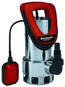 Einhell RGDP 1035 N Schmutzwasserpumpe, 1050 Watt, max. 18.000 l/h, Fremdkörper bis 35 mm, Edelstahlgehäuse  BaumarktÜberprüfung und Beschreibung