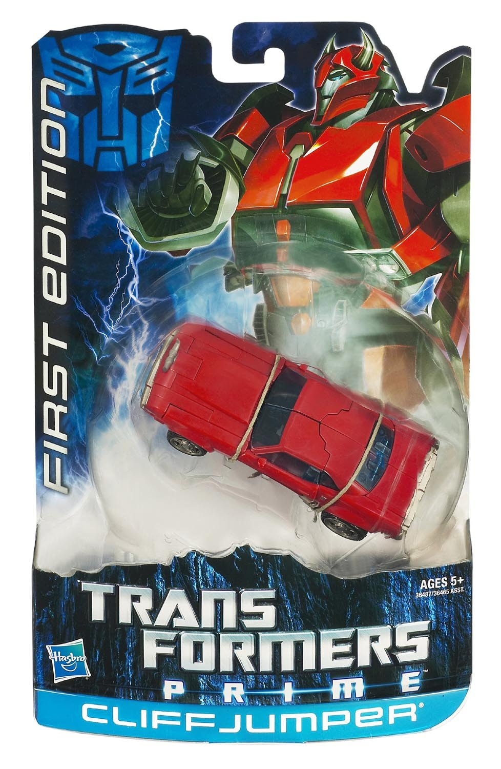 TRANSFORMERS PRIME First Edition Terrorcon Cliffjumper günstig