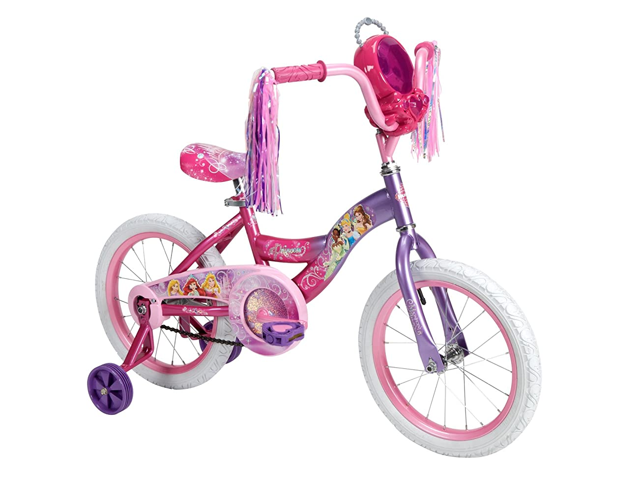 Huffy Bicycle Company Number 21975 Disney Princess Bike, Purple to Pink Fade, 16-Inch 0