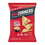 POPCORNERS Kettle Corn Popped Corn Snacks, Gluten Free, Non-GMO, 7oz Bags (Pack of 12) - Packaging May Vary
