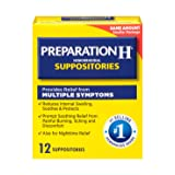 Pfizer Prep H Suppositories, 12 Count (Tamaño: 12 Count)