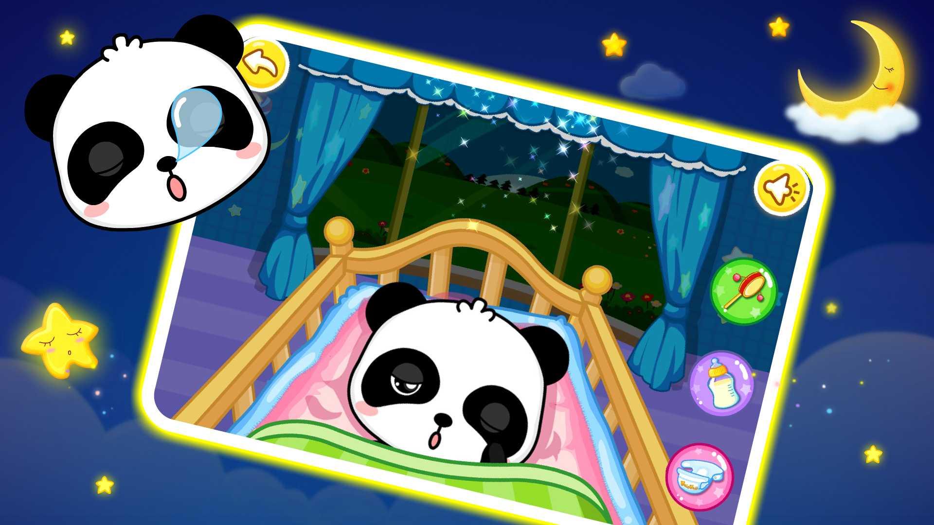 baby panda games for kids free