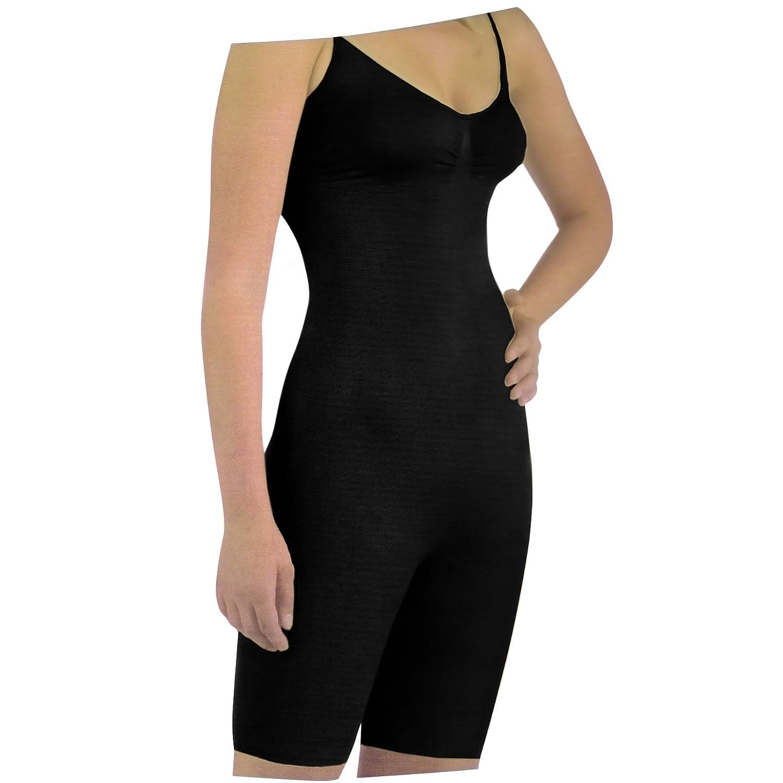 Damen Body Care All In One Figur Kontrollierende Unterwäsche (XXL DE 46 (Taille: 102-107cm)) (Schwarz) jetzt bestellen