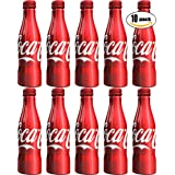 Coca-Cola, Coke Classic, 8.5oz Aluminum Bottle (Pack of 10, Total of 85 oz) (Tamaño: Coke Classic)