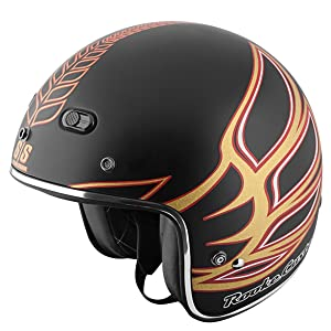 Speed and Strength Rooke Customs Men's SS600 Cruiser Motorcycle Helmet