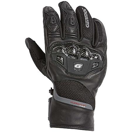 Germot homme tUCSON gants d'été en cuir et textile-noir