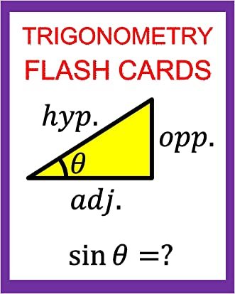 Trigonometry Flash Cards:  Memorize Values of Trig Functions (sin, cos, tan) from 0 to 360 Degrees