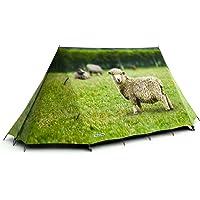 FieldCandy Animal Farm Sheep Design 2-3 Person Camping Tent