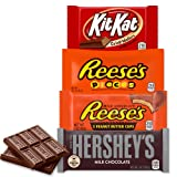 HERSHEY'S Chocolate Candy Variety Pack (Hershey's, Reese's, Reese's Pieces, Kit Kat), 20 Count