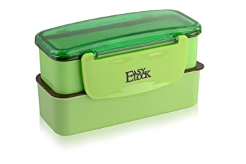 easy lock mini lunchbox zwei f chern mit trinkflasche. Black Bedroom Furniture Sets. Home Design Ideas