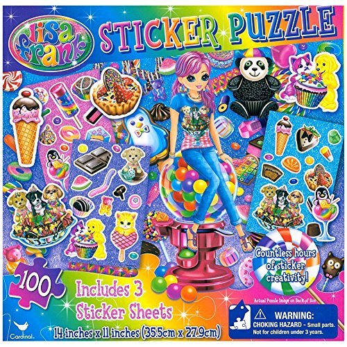 Lisa Frank Sticker 63 Piece Puzzle - 1