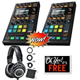 (2) Native Instruments Traktor Kontrol D2 DJ Controller + Free Audio Technica ATH-M50x Bundle (ProSoundGear) (Color: Black)