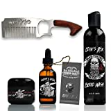 Mad Viking Beard Co. - Premium Beard Kit (Odin's Rök Beard Kit)
