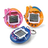 Nostalgic 90S Electronic Pets 49 Pets in One Virtual Pet Digital Pet Toy Funny (Color Random) (Style-A) (Color: Style-a, Tamaño: Large)