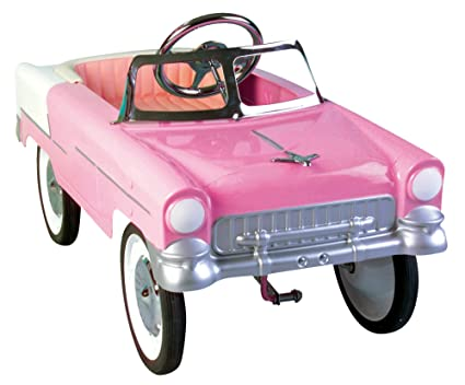 Metallic Pink Cars Metal Pedal Car Pink Pink