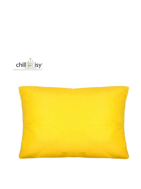Outdoor Kissen gelb 40x60, sonnenresistent wasserabweisend, chillisy® SUMMERTIME (Gelb) (Gelb)