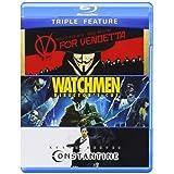 V for Vendetta / Watchmen / Constantine (Triple-Feature) [Blu-ray] (Color: color, Tamaño: 7 Ounces)