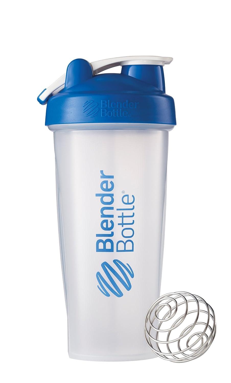 Blender Bottle Classic Loop Top Shaker Bottle, Clear Black, 28 Ounce