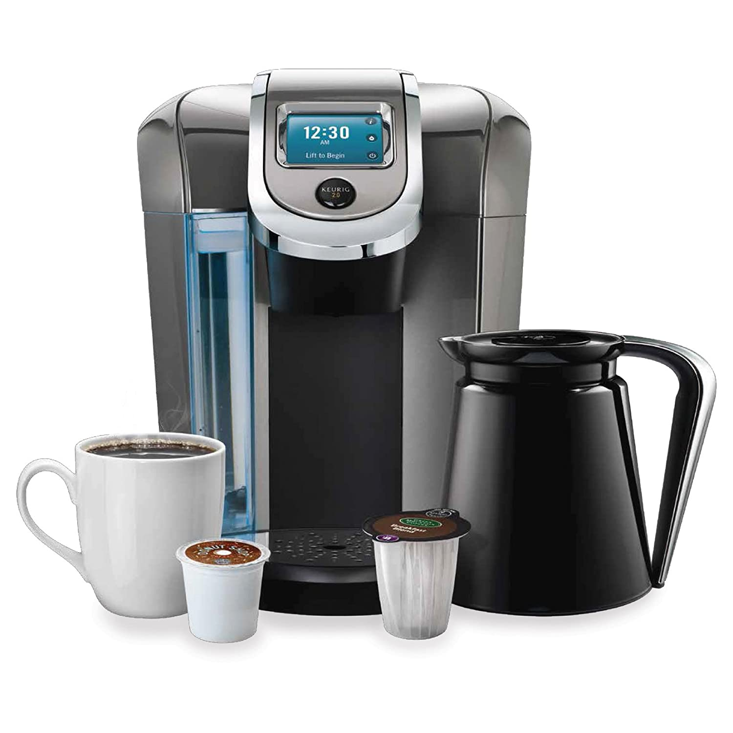 Keurig Coffee Maker Instructions Prime : Keurig 2.0 Brewer Review