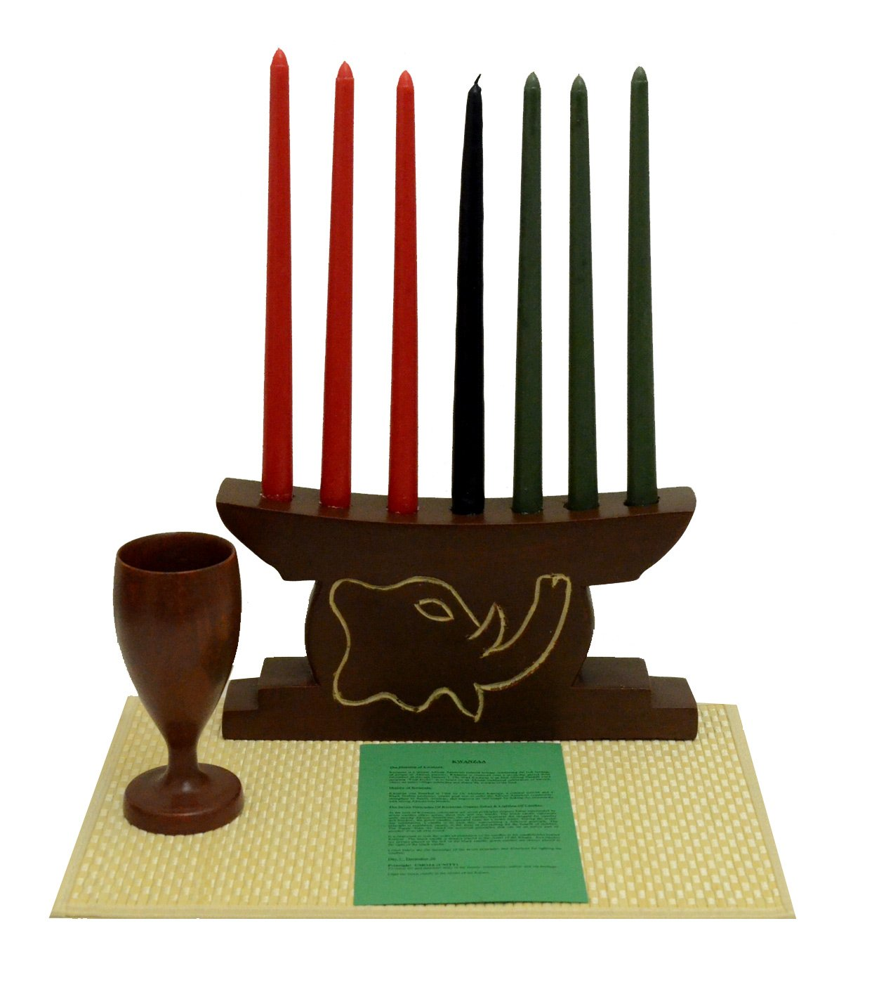 Kwanzaa Elephant Celebration Set