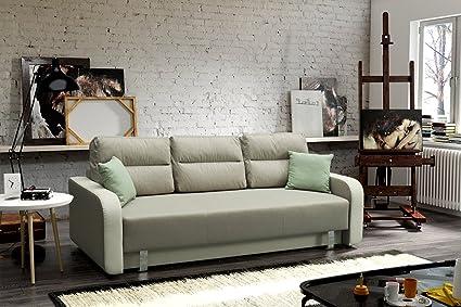 Sofa Borneo mit Schlaffunktion Schlaffcouch Couch Polstersofa Polstercouch 03