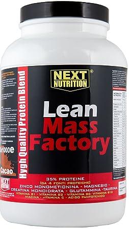 1 kg Protein mit Creatin , Glutamin , Taurin , Zink- Magnesium , Vitamine und Mineralien verstärkt. Ideal zur Erhöhung der Muskelmasse Geschmack Kakao