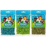 Perler Bead Bag 1000, 3-Pack - Teal, Fern & Olive (Color: Teal, Fern, Olive)