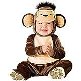 InCharacter Costumes Baby's Mischievous Monkey Costume, Brown/Cream, Medium (Color: Brown/Cream, Tamaño: Medium)