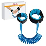 Anti Lost Wrist Link Safety Wrist Link for Toddlers, Babies & Kids (Blue) by Blisstime