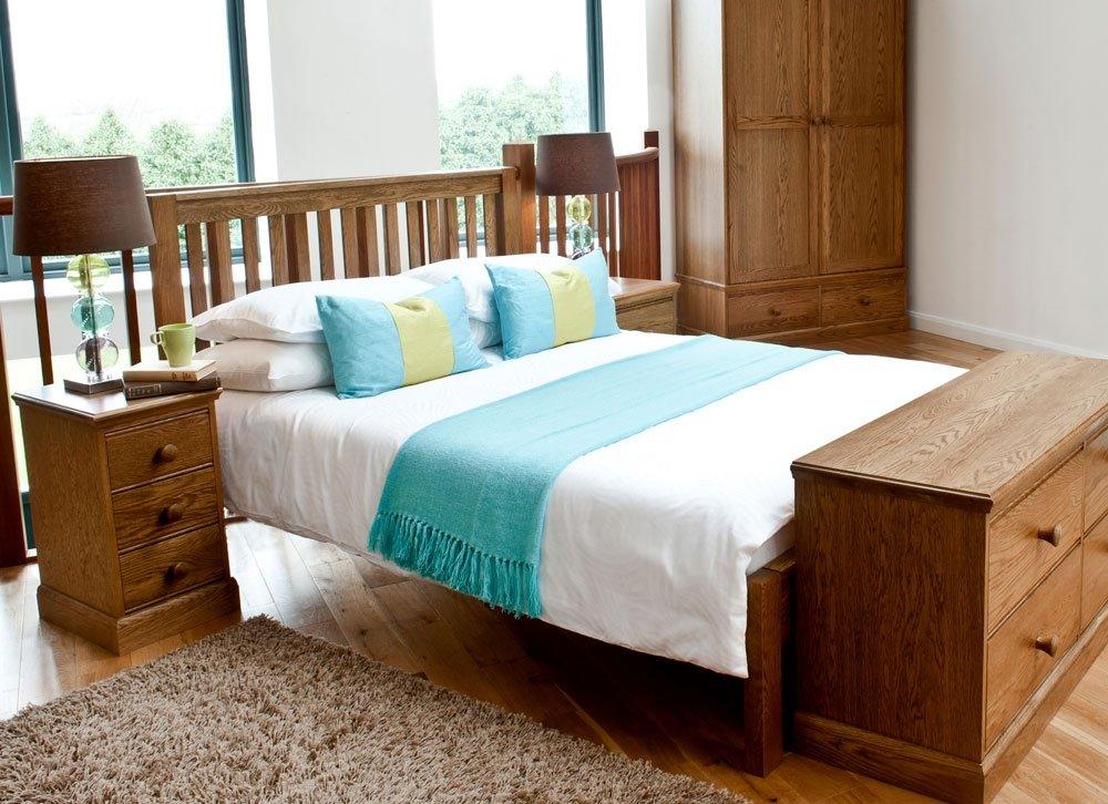 Kendal Schlafzimmermöbel, Eiche, king size, 152 cm