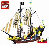 Enlighten Pirate Ship Boat Adventure Building Block 590pcs - without Toy Packing Box