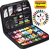 STURME Sewing KIT 30 XL Thread Spools Sewing Tool Kit with PU Case, Perfect for Home Travel and Emergency and Easy to Use for Everyone (Color: Use for Everyone, Tamaño: XL)