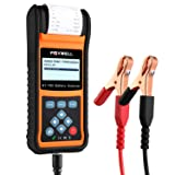 FOXWELL Battery Tester BT780 Car Battery Load Analyzer 12V&24V Starting and Charging System Test Tool with Built-in Thermal Printer (Color: BT780, Tamaño: Car Start-Stop AGM EFB Battery Tester)