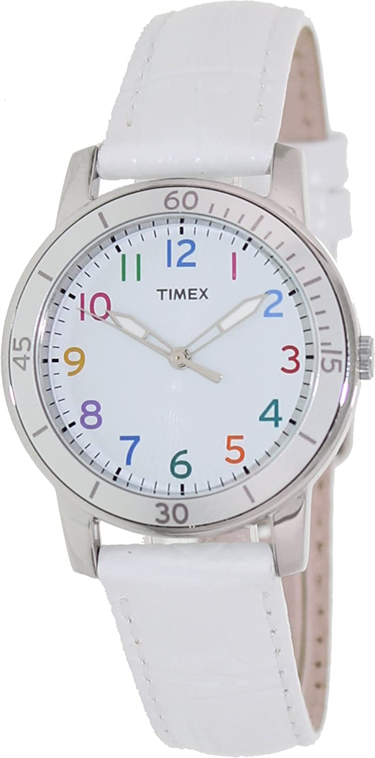 Timex Casual Embossed Leather Women's watch #T2P049 timex t2m875