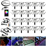 LED Deck Lights Kit, 20pcs F1.22