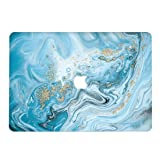 Hard Case for Apple (2010) MacBook Old Pro 13.3 Inch with CD Drive Model A1278 - RQTX Laptop Computers Accessories Plastic Smooth Marble Design Print Protective Cover Shell,Pattern 69 (Color: Marble 69, Tamaño: 2010 Old Pro 13 inch(A1278))