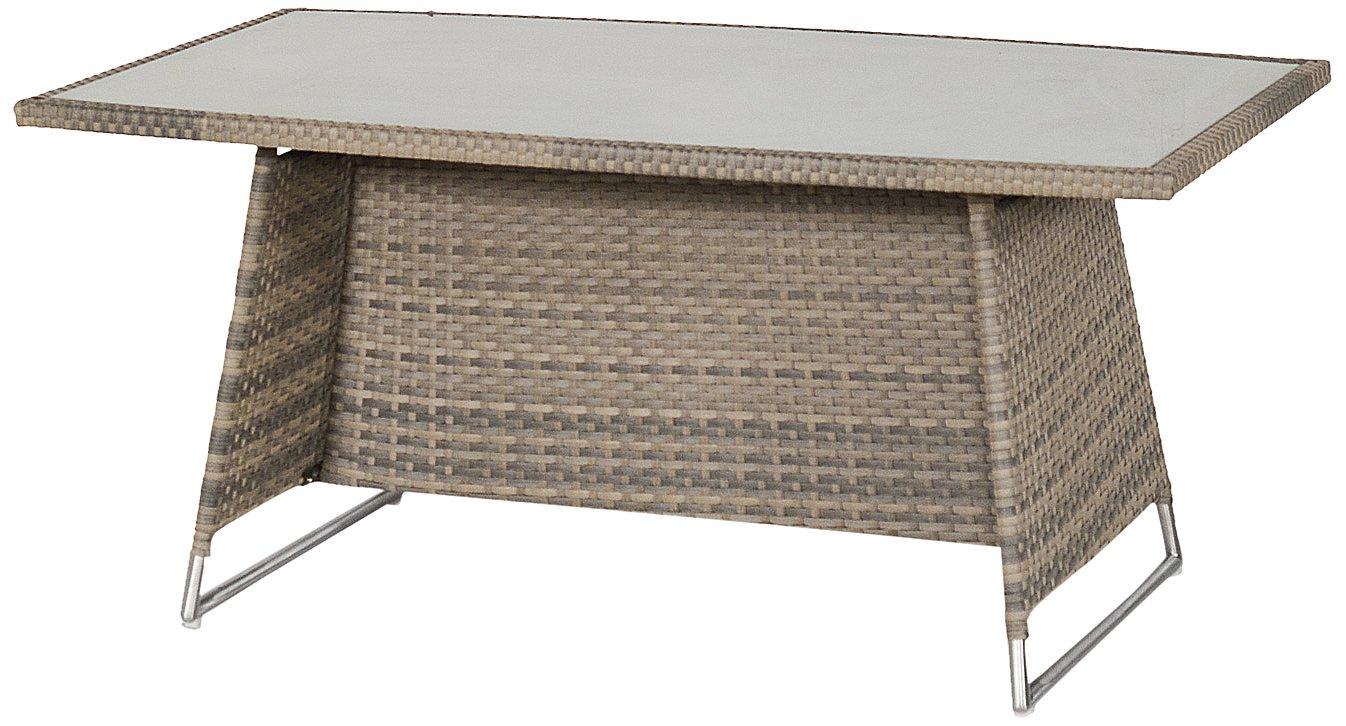 Hartman 22656100 Montego Tisch 160 x 90 cm Glasstop günstig bestellen