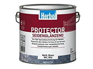 Herbol Protector PG1 0391 reinweiß RAL 9010, 10 Liter  BaumarktKundenbewertung und Beschreibung