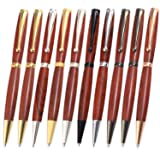 Legacy Woodturning Fancy Pen Kit 10 Piece Variety Pack