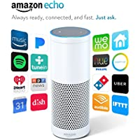Amazon Echo Voice Activated Wireless Speaker (White)