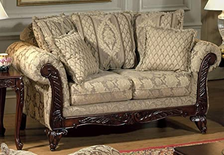 Chelsea Home Furniture Serta Kelsey Love Seat, Base Upholstered in Clarissa Carmel