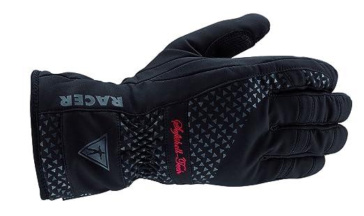 Racer 20682 Warm Up Ladies Textile gants Taille M, noir