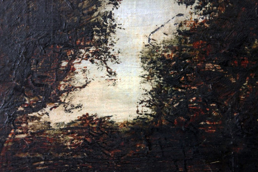 Amazon.com Art: The Dark Forest : Oil : Marian Blakelock
