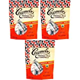 Cocomels Coconut Milk Caramels - Organic, Kosher, NON-GMO, Vegan - Made Without Dairy - Espresso 3 Pack