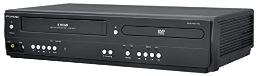 Funai Corp DV220FX4 Combination Video and DVD Player